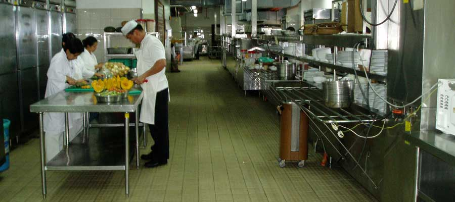 Baguio Country Club - Kitchen