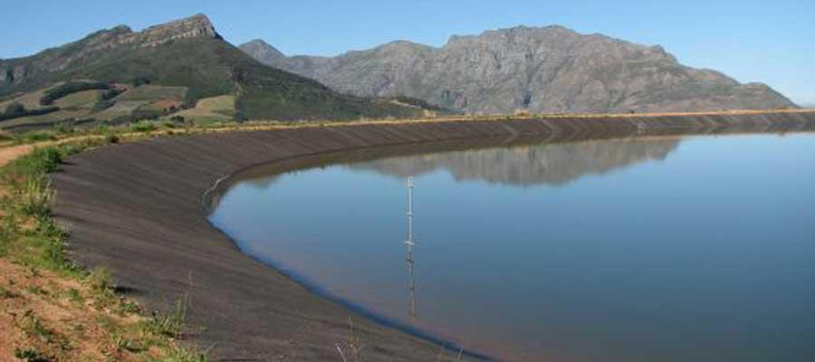 Waterblok Erarth Dam Lining